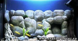 фон аквариума своими руками