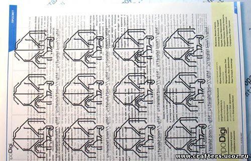 рисование печатных плат