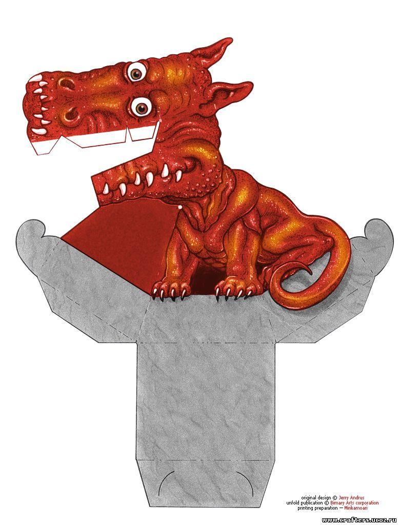 фото иллюзия дракона