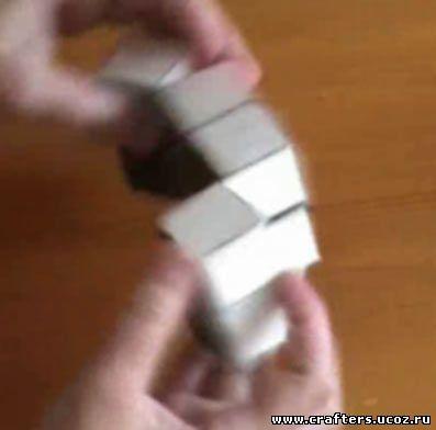 детские поделки своими руками сумасшедший кубик из бумаги