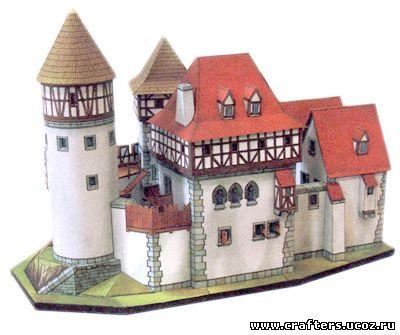 Замок своими руками дома