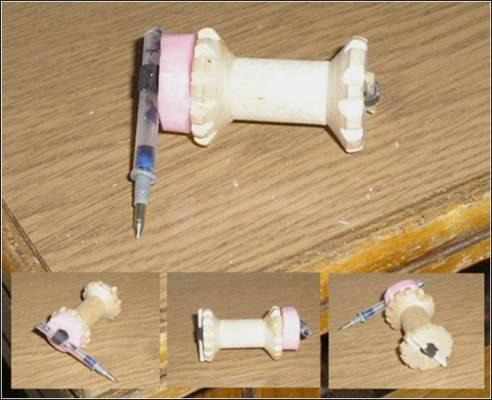 Самодельная машинка ползущая своими руками за 5 минут поделки для детей развивающие игры резинка катушка карандаш
